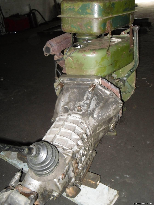 Самодельные трактора с двигателем уд2